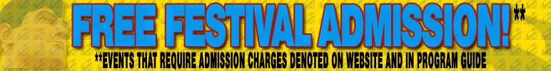 Free Festival Admission